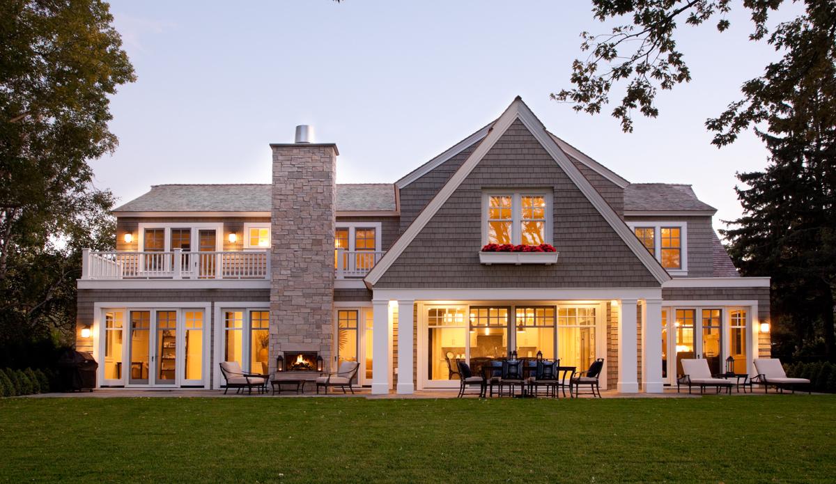 edina shingle style residence swan architecture