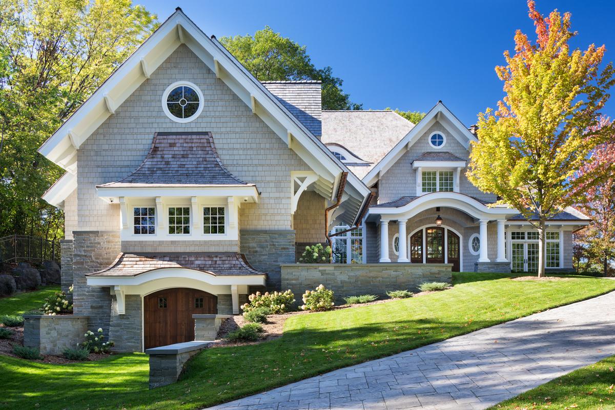 Oak hill shingle style residence swan architecture for Shingle style architecture